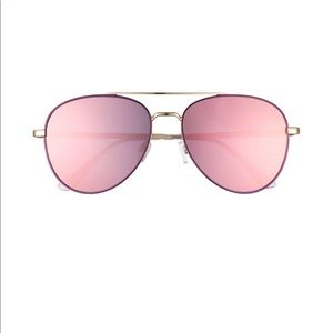 QUAY AUSTRALIA - New- Ur Here Mirrored Aviators
